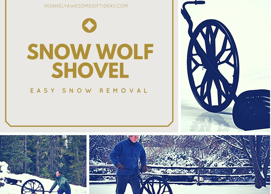 Snow Wolf Shovel Helps Remove Snow While Reducing Lower Back Stress