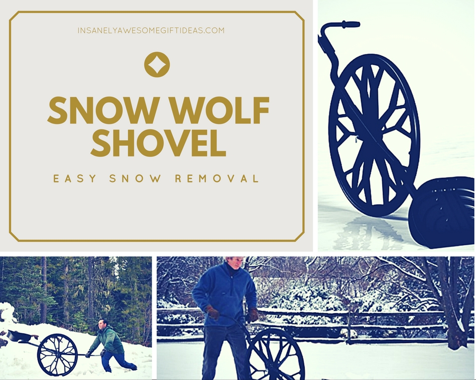 The Snow Wolf Shovel Is an Amazing Gift