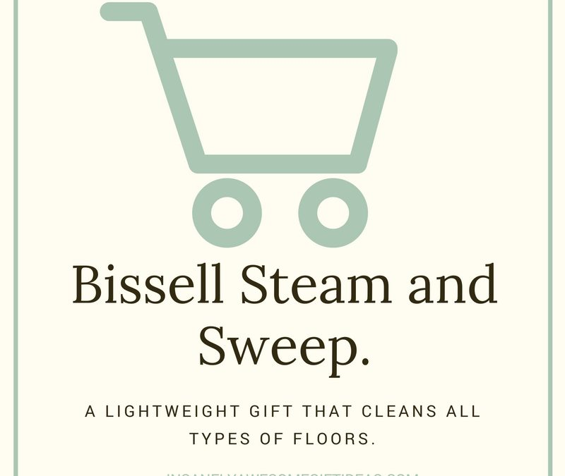 Bissell Steam and Sweep Mop Helps People Maintain Sparking Floors