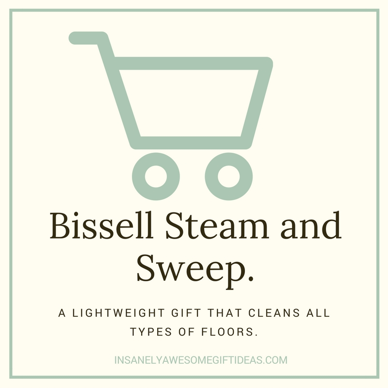 Bissell Steam and Sweep Mop Is a Fantastic Gift Idea