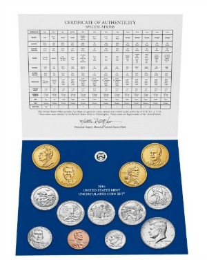 Perfect For Coin Collectors – 2016 US Mint Uncirculated Coin Set