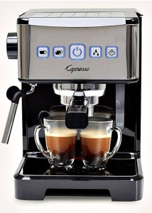 The Capresso Ultima Pro Espresso Maker Impresses