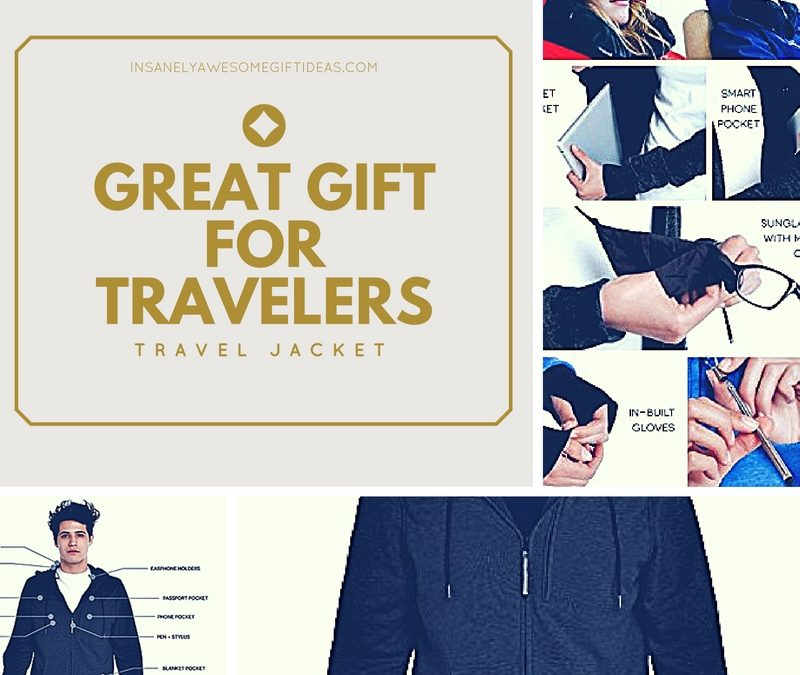 Baubax Travel Jacket Is the Ideal Gift for Intrepid Travelers