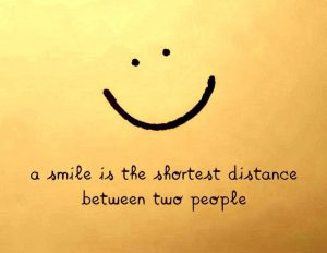 Identify Happy Customers by Their Big Smiles!