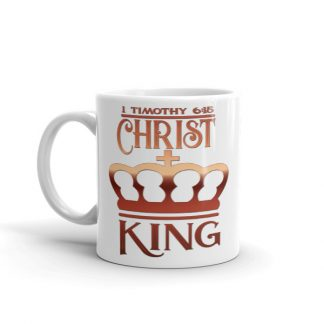 Golden Christ King Concept Dishwasher Safe Mug