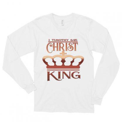 Christ King Long Sleeve Unisex Tee