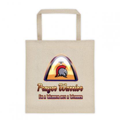 Prayer Warrior Tote Bag