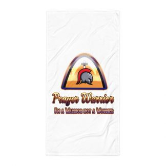 Prayer Warrior Towel