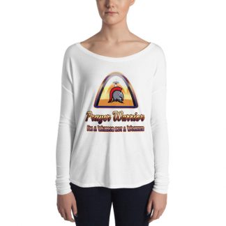Prayer Warrior Ladies Long Sleeve Tee
