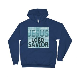 Jesus Is My Lord And Savior Unisex Fleece Hoodie