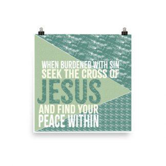 Inspirational Jesus Poster