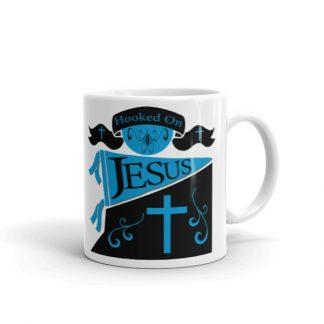Hooked On Jesus Mug