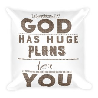 1 Corinthians 2:9 Scriptural Pillow