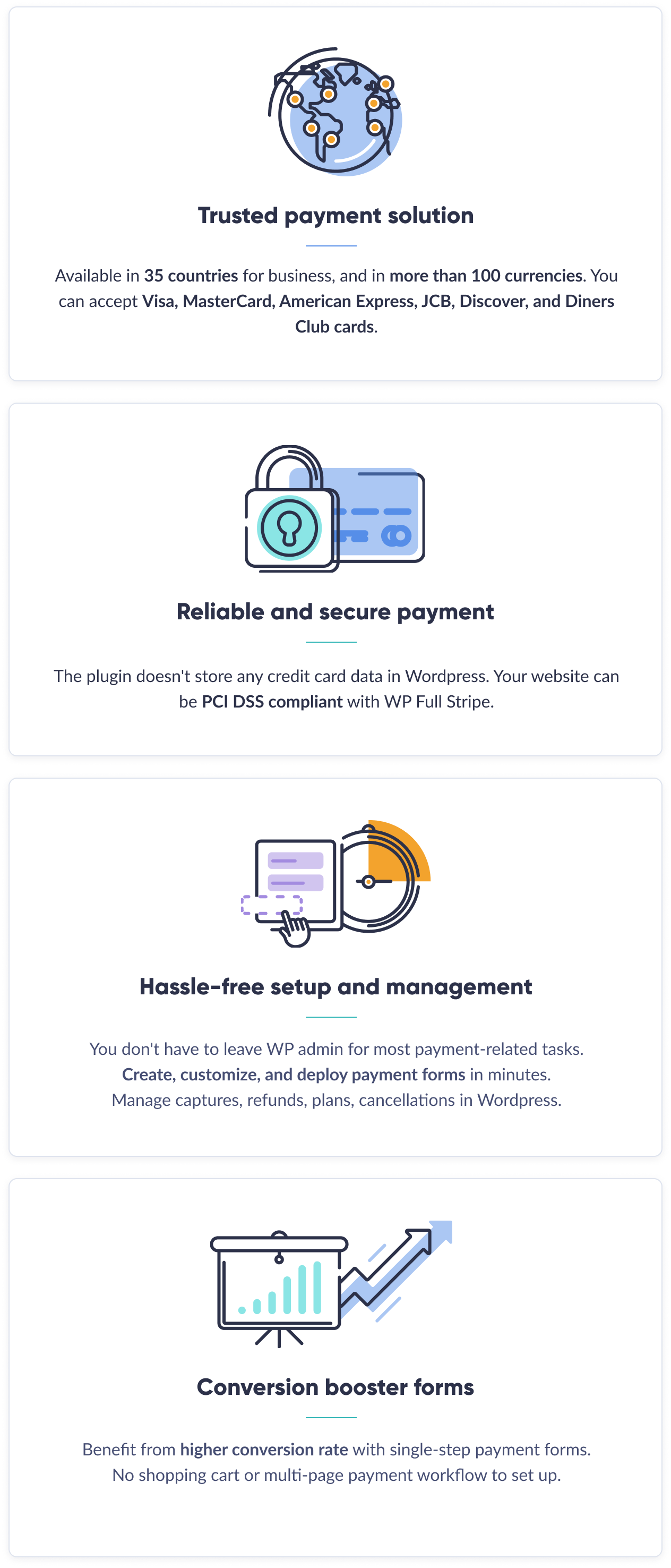 WP Full Stripe - Trusted payment solution
