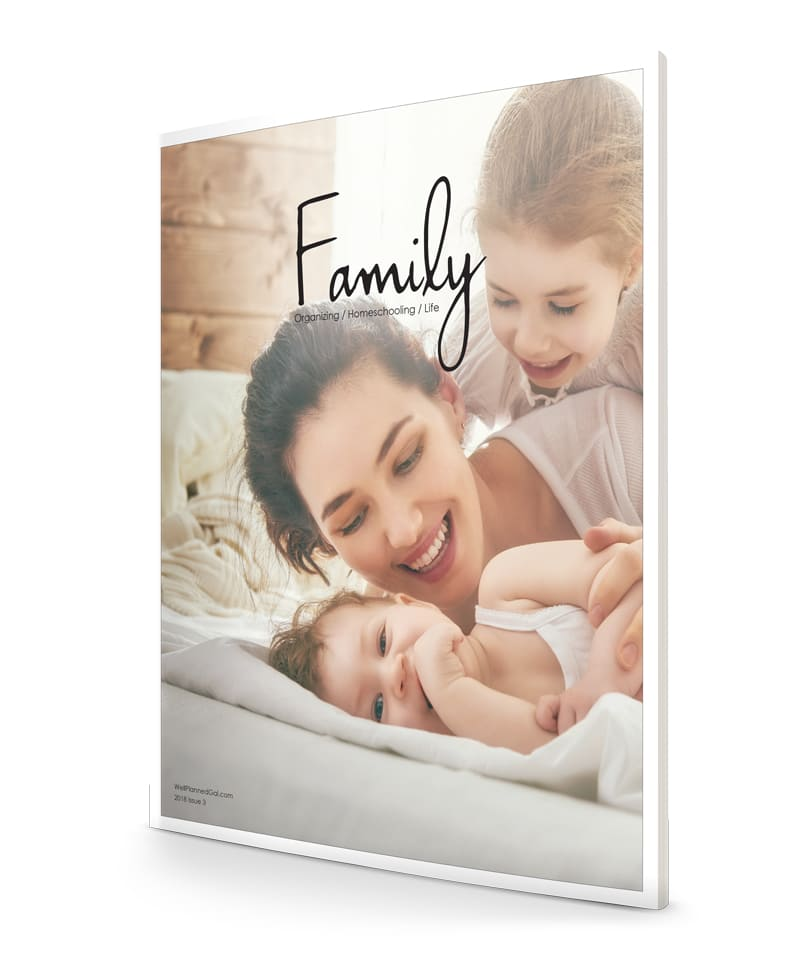 family magazine sample issue