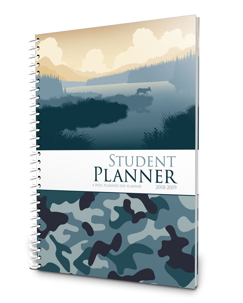 camo middle school planner 2018-2019