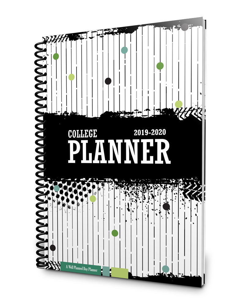 Systematic and attractive one-year college planner 2019-2020