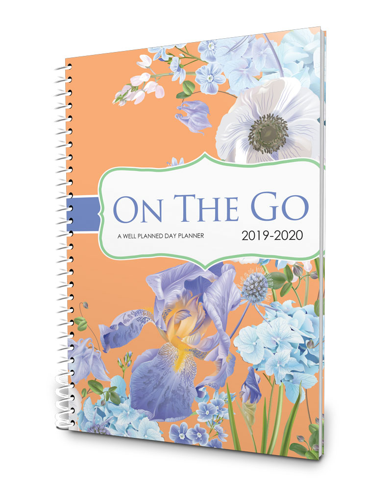 A purse-sized 2019-2020 planner for the busy mom