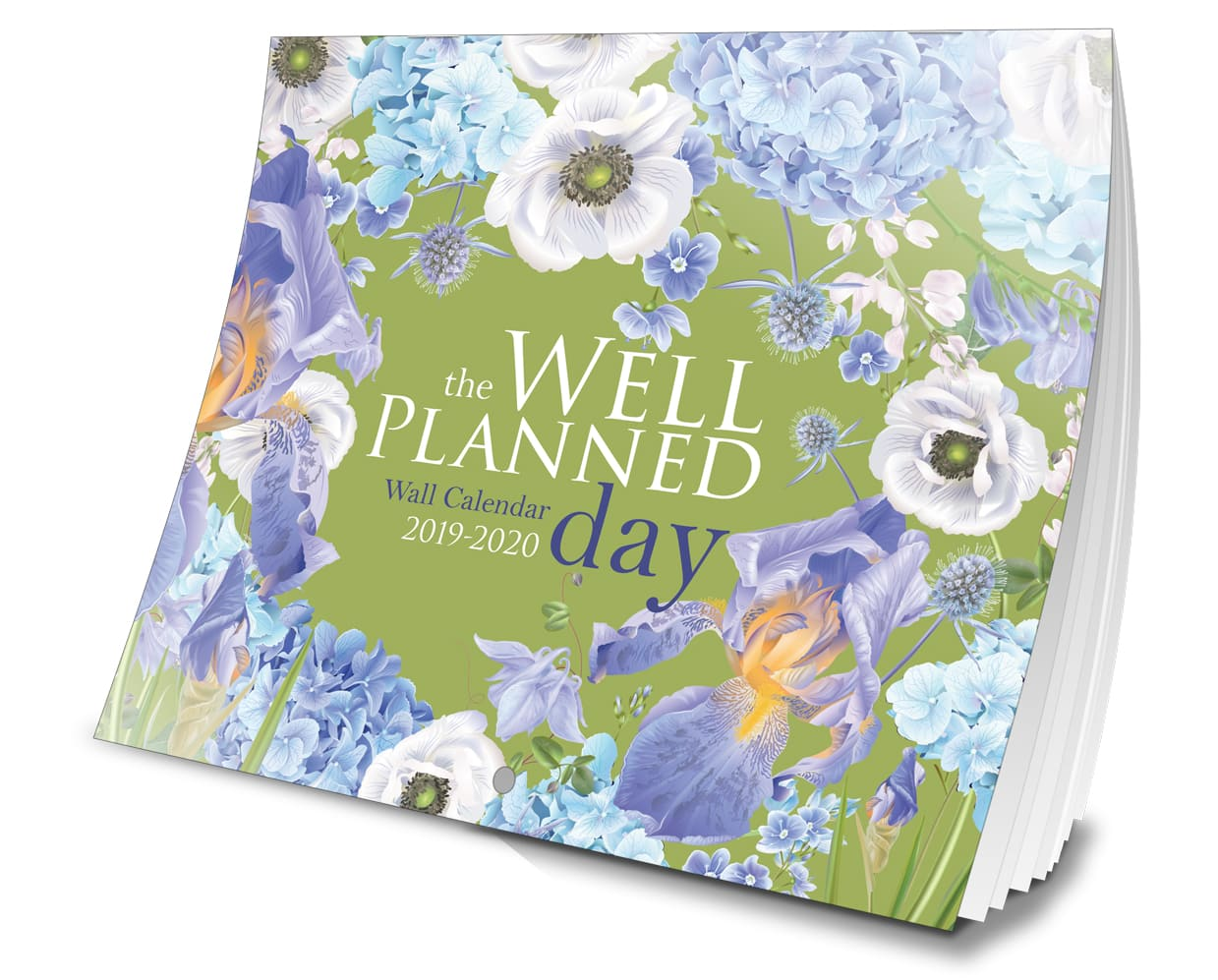 Beautiful and spacious 2019-2020 family wall calendar