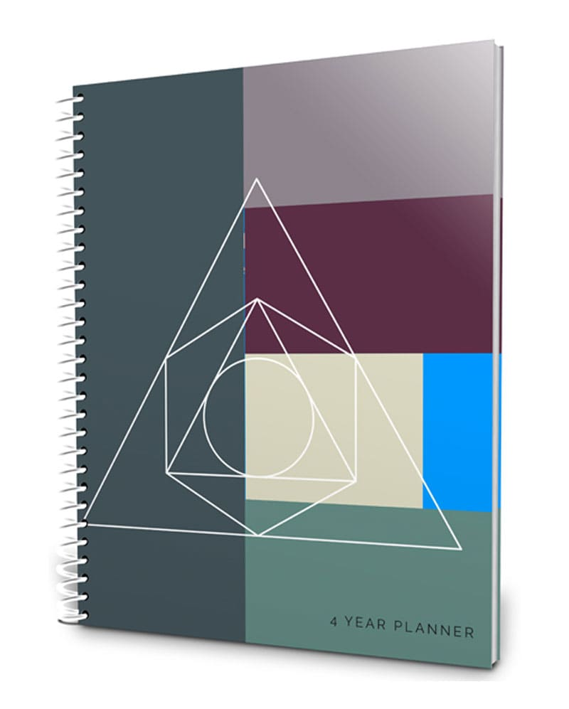 Four-year high school planner and portfolio 2016-2020