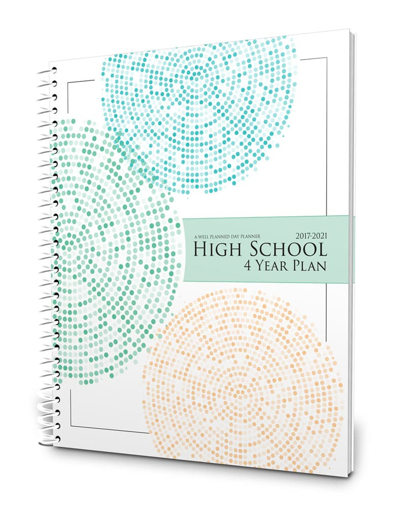 Four-year high school planner and portfolio 2017-2022
