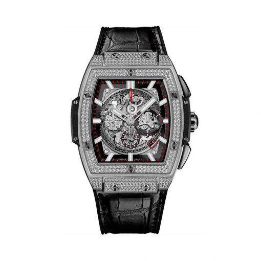 Hublot Chronograph Spirit of Bing Bang Titanium Men`s Watch, 601.NX.0173.LR.1704 3