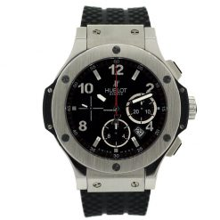 Hublot Big Bang Stainless Steel Rubber Chronograph Automatic Men's Watch, 301.SX.130.RX 301.SX.130.RX