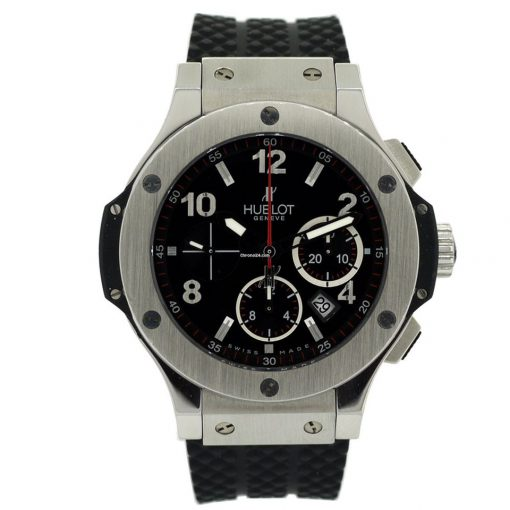 Hublot Big Bang Stainless Steel Rubber Chronograph Automatic Men's Watch, 301.SX.130.RX