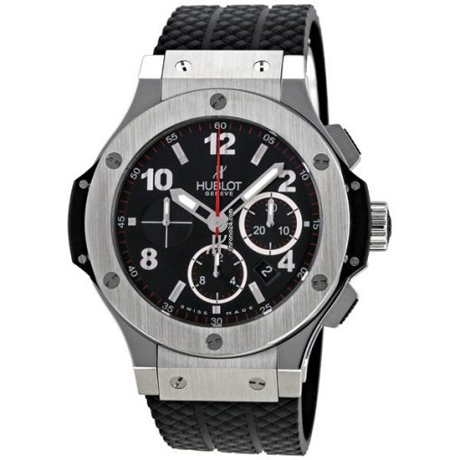 Hublot Big Bang Stainless Steel Rubber Chronograph Automatic Men's Watch, 301.SX.130.RX 4