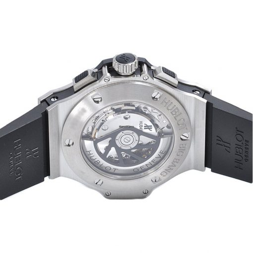 Hublot Big Bang Steel Diamonds Rubber  Men`s Watch, 301.SX.1170.RX.1104 3