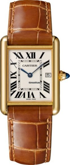 Cartier Tank Louis 18K Yellow Gold Watch W1529756