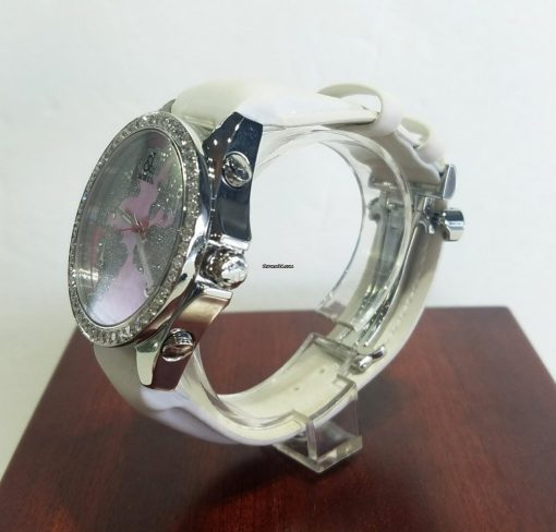 Jacob and Co Five Time Zone Stainless Steel and White Diamonds Watch, JCM47WPBZ 6