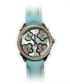 Jacob and Co Five Time Zone Stainless Steel and White Diamonds Watch JCMATH14BZ
