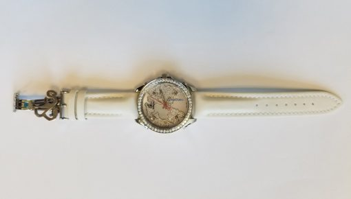 Jacob & Co Five Time Zone Stainless Steel and White Diamonds Watch, JCM47WWBZ 5