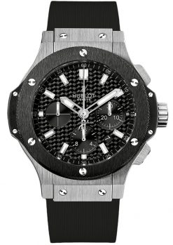Hublot Big Bang Stainless Steel Ceramic Rubber Automatic Men`s Watch 301.SM.1770.RX