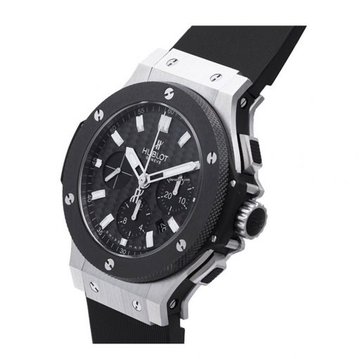 Hublot Big Bang Stainless Steel Ceramic Rubber Automatic Men`s Watch, 301.SM.1770.RX 4