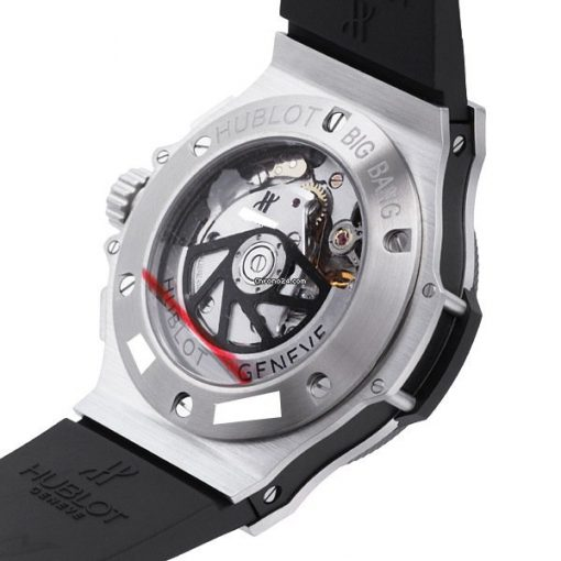 Hublot Big Bang Stainless Steel Ceramic Rubber Automatic Men`s Watch, 301.SM.1770.RX 5