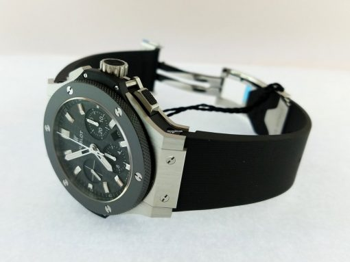 Hublot Big Bang Stainless Steel Ceramic Rubber Automatic Men`s Watch, 301.SM.1770.RX 10