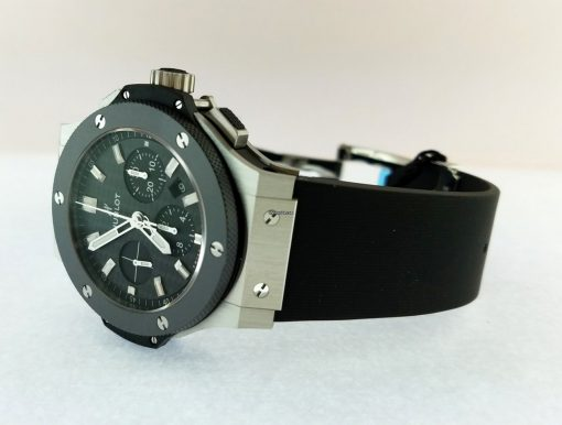 Hublot Big Bang Stainless Steel Ceramic Rubber Automatic Men`s Watch, 301.SM.1770.RX 11