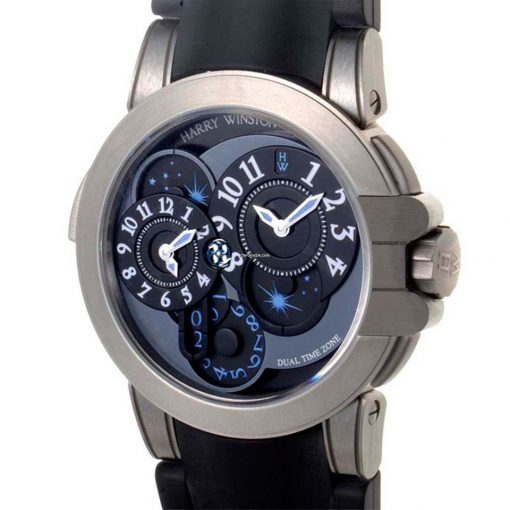 Harry Winston: Project Z4 Ocean Dual Time Limited Edition Men`s Watch, preowned.410/MATZ44ZC.W 3