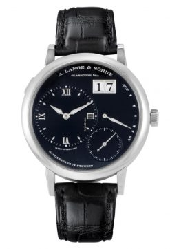 A Lange and Sohne Grand Lange 1 Black Leather 18k White Gold Men's… 117.028