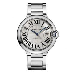 Cartier Ballon Bleu Stainless Steel Watch W69012Z4