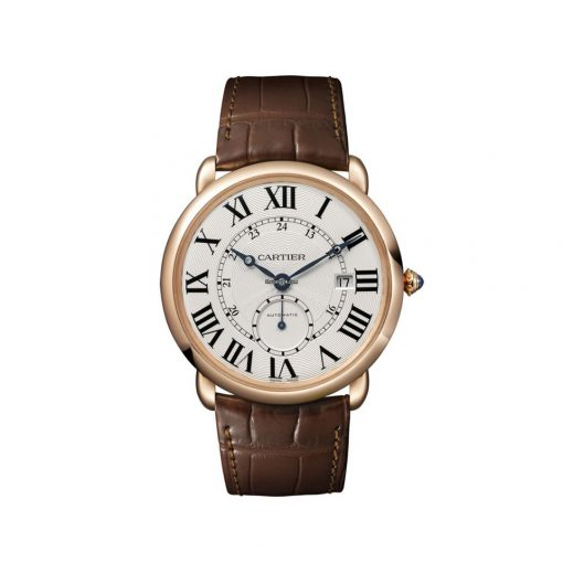 Cartier Ronde Louis 18K Pink Gold Men's Watch, W6801005