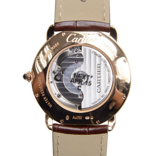 Cartier Ronde Louis 18K Pink Gold Men's Watch, W6801005 2