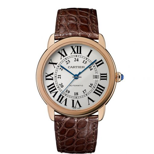 Cartier Ronde Solo 18K Pink Gold & Stainless Steel Men's Watch, W6701009