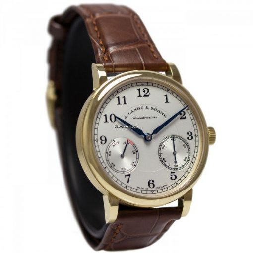 A Lange and Sohne 1815 Brown Leather Men's Watch, 234.021 3