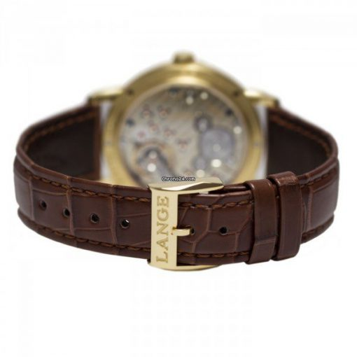 A Lange and Sohne 1815 Brown Leather Men's Watch, 234.021 2