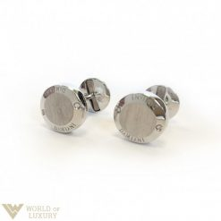 Damiani Blasoni 18k White Gold Diamonds Cufflinks 20019375