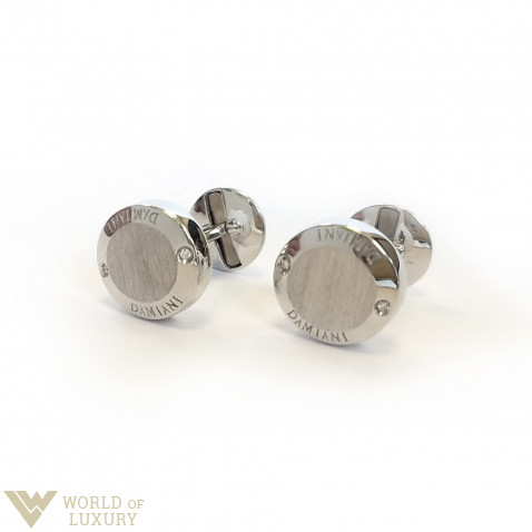 Damiani Blasoni 18k White Gold Diamonds Cufflinks, 20019375