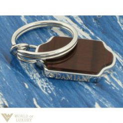 Damiani: Colonial Key ring, 20025941 (18kt White Gold / Diamond/ Semiprecious Stone) * 20025941